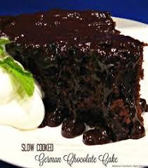 slow cooked german chocolate cake recipe german chocolate