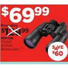 best black friday binoculars deals nikon action 10x50 binoculars 69 99 sports authority black