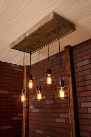 wood beam light fixture lighting industrial lighting chandelier black with pictures with