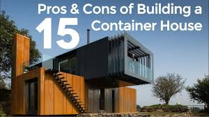 top 15 pros and cons of building a shipping container house in
