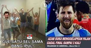 Meme Messi - 7 meme kocak messi dipenjara duh nggak tega deh