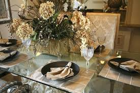 Dining Room Table Setting Dishes Dining Room Table Settings Magnolia Home Sawbuck Dining Table