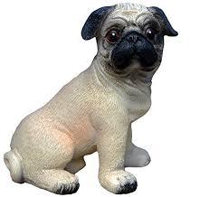 adorable pug statue figurine this delightful pug ornament