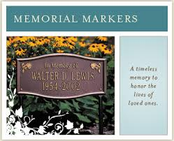 memorial markers whitehall products
