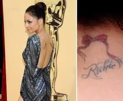 photos of celebrities who have tattoos popsugar beauty australia