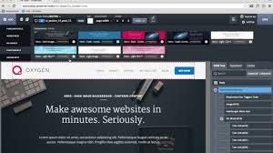 introducing oxygen visual website design software for wordpress