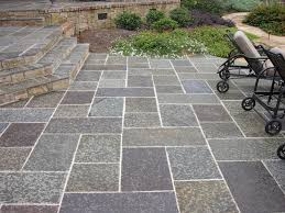 Backyard Concrete Patio by Decorating Deck Patio Ideas With Stamped Concrete Patio Plus
