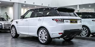 white range rover sport land rover sport autobiography 2014 gve luxury vehicles london