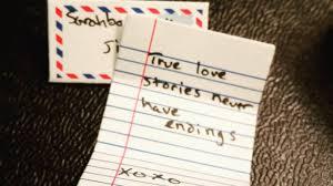 a letter that make him feel romantic cute love qlove