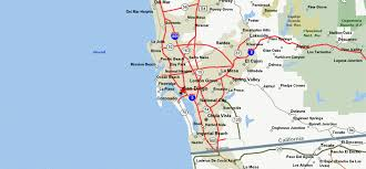 Map Of The Coast Of California San Diego California U2013 City Of Hope Travel Featured