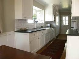 Soapstone Subway Tile White Cabinets Soapstone Counters Grey Subway Tiles Wood Floors