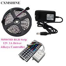 5050 smd 300 led strip light rgb 5m smd rgb 5050 tape light non waterproof 300led strip light 44 key
