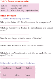 grade 2 reading lesson 10 fairy tales puss in boots 4