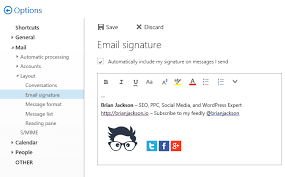 I Messed Up My Signature - how to use an image in your email signature with office 365
