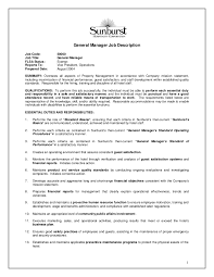Chef Job Description Resume by Stocker Job Description Stocker Resume Resume Cook Head Chef