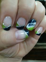 seahawk manicures 1st seattle seahawks shellac manicure nails