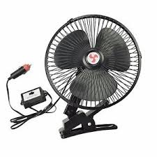 12 volt clip on fan new 8 12 volt black car fan truck fan with clip cigarette