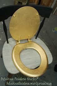 gilding a toilet seat gold leaf shop fabfinisher com fabulous