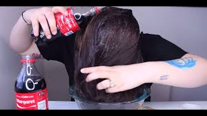 hair coke rinse what happens when you wash your hair with coca cola the results