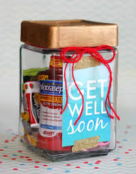 get well soon gift get well soon gift in a jar happy go lucky