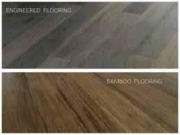 Engineered Flooring Installation Engineered Hardwood Vs Bamboo Flooring Titandish Decoration