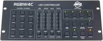 american dj rgbw4c 4 channel dmx light controller pssl