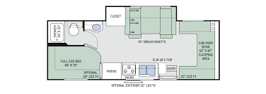 floor plans chateau sprinter 24ws
