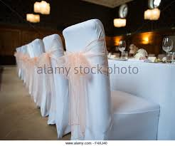 bows for wedding chairs white wedding chair stock photos white wedding chair stock