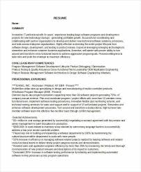 program manager resume manager resume sle templates 43 free word pdf documents
