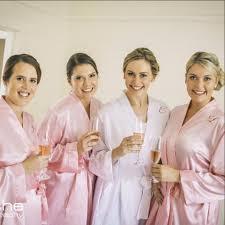 bridesmaids robes cheap cheap personalised satin robes for bridal bridesmaid australia