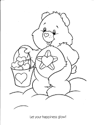 care bear coloring imageseldiariodelasvocesrobadas crafty