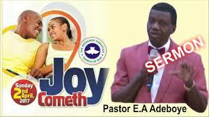 pastor e a adeboye sermon 2017 rccg thanksgiving service