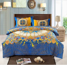 bohemian bedding set thicken cotton brushed comforter bedding sets  with bohemian bedding set thicken cotton brushed comforter bedding sets bedsheet  quilt cover set bedspreads king size from pinterestcom