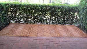 ringhiera in legno per giardino gazebo garden house lazzerini