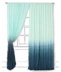 Ombre Window Curtains Diy Ombré Curtain Panels Escape From Bk