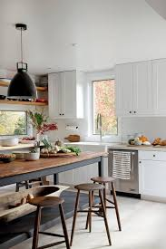 eat at kitchen island let s bring back the eat in kitchen shaker cabinets open shelves