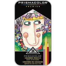 prismacolor pencils prismacolor premier colored pencils 24 assorted colors walmart