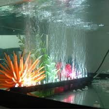 adding tank bubblers to increase the air exchange for marimo