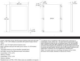 Standard Mirror Sizes For Bathrooms | standard mirror sizes for bathrooms bathroom designs