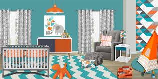 turquoise nursery decor geometric crib bedding chevron nursery