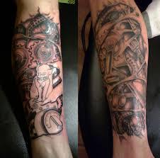 mechanic tattoo drawing mechanical leg sleeve w i p by ashtonbkeje on deviantart