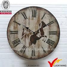 Shabby Chic Wall Clocks by Horse Shabby Chic Handmade Wrought Iron Wall Clocks Buy Wrought