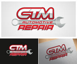 Garage For Cars by Bold Serious Logo Design For Ctm Repair By Carlbondoc Design