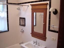 Bathroom Medicine Cabinets Recessed Beveled Mirror Medicine Cabinet Coexist Decors
