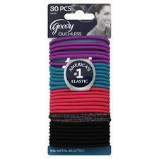 goody hair ties goody ouchless hair elastics multi glitter 30 ct