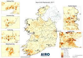Dublin Ireland Map Demographics All Island Research Observatory
