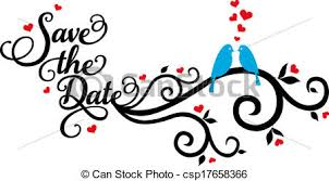 save the date wedding birds vecto save the date wedding clip