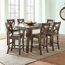 dining room table height reece 7 piece counter height dining set