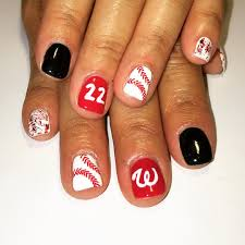 28 awesome base ball nail designs design trends premium psd