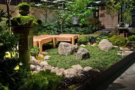 simple japanese garden style for relaxing home exterior